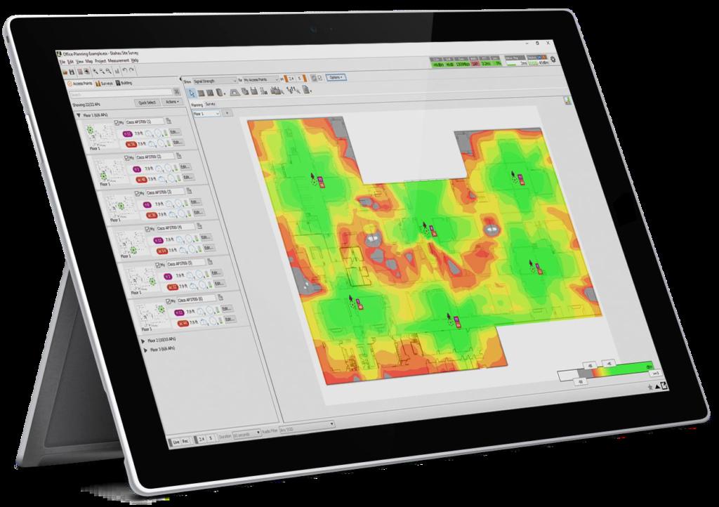 Wireless Survey Heatmap